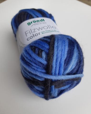 Filzwolle Color 23 пряжа шерсть для валяния