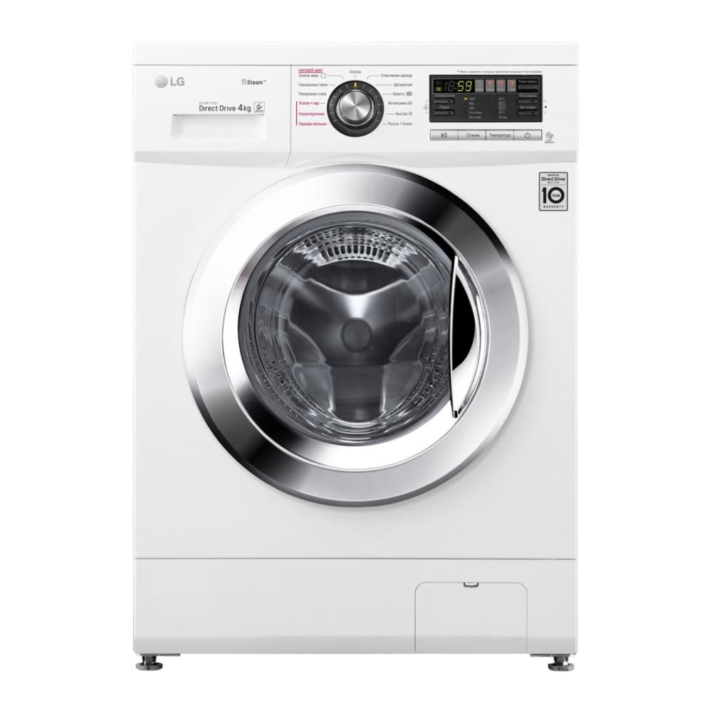 Узкая стиральная машина LG с системой прямого привода F1096SDS3 фото