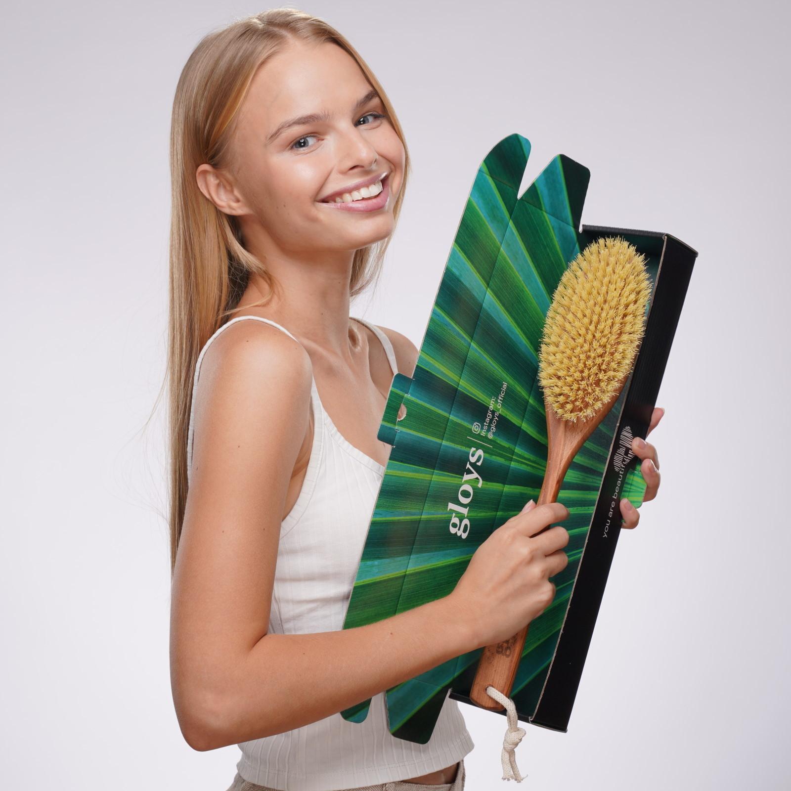 Щетка GLOYS Cactus — (39 см, жесткая)