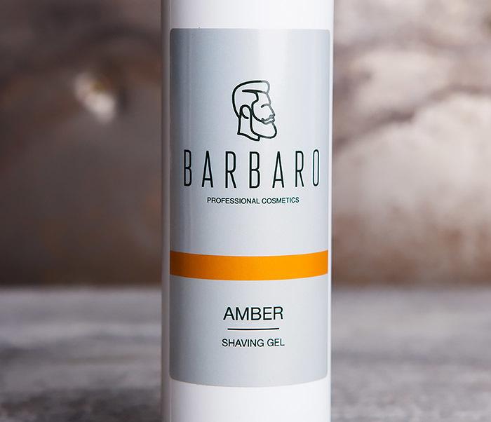 RAZ1034 Гель для бритья AMBER от Barbaro (200 мл) фото 02