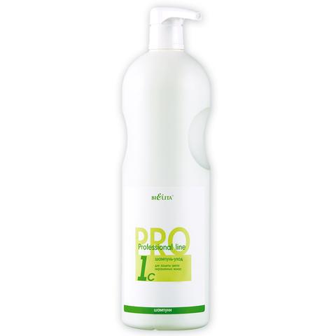 Белита Professional line Шампунь-уход для защиты цвета окрашенных волос 1000мл