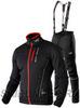 Утеплённый лыжный костюм 905 Victory Code Speed Up Black с лямками мужской