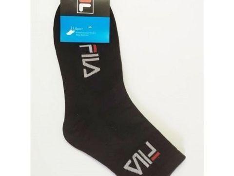 Мужские носки Fila длинные черные 1 шт.