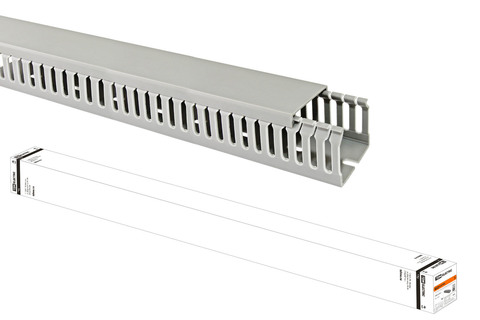 Кабель-канал перфорированный 40х40 перфорация 4/6мм TDM (36 м)