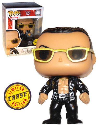The Rock (Chase) Funko Pop! Vinyl Figure
