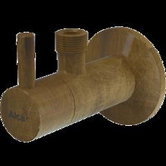 Вентиль угловой Alcaplast ARV001-ANTIC фото