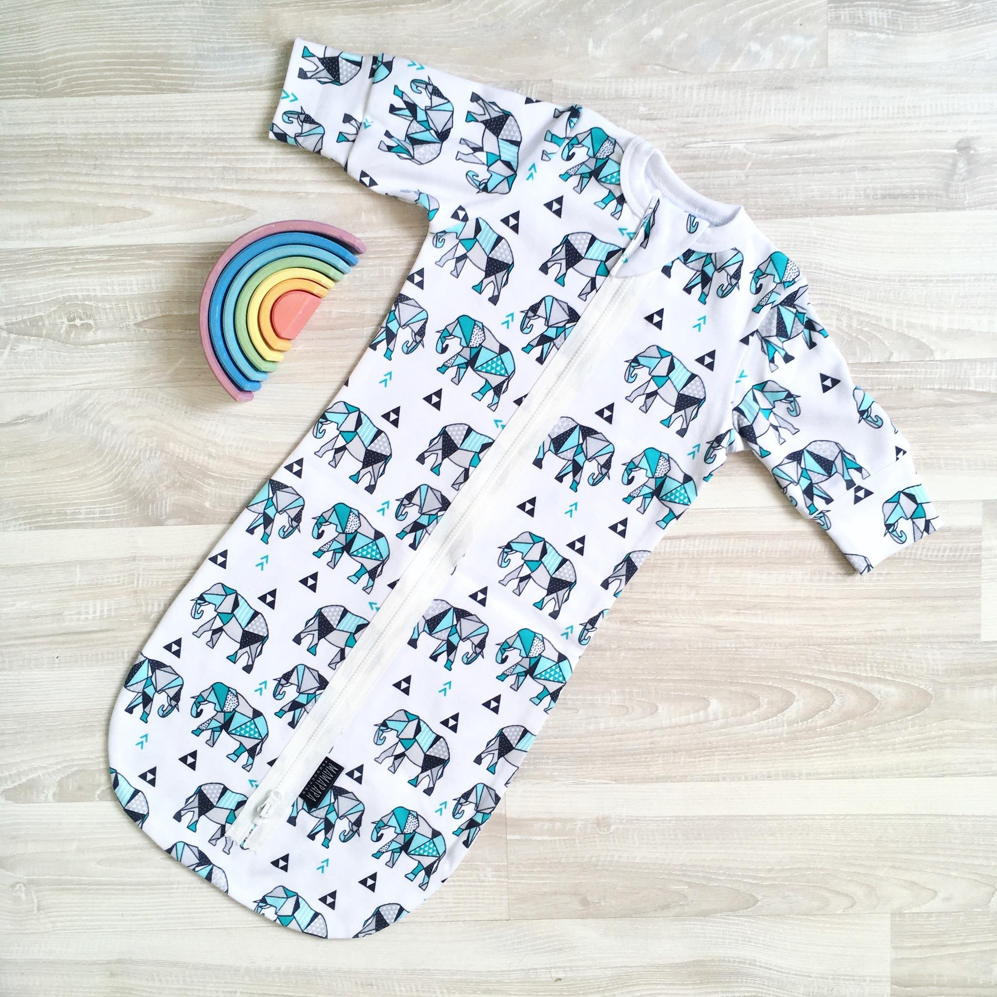 Спальный мешок Mjölk Слоники Оригами