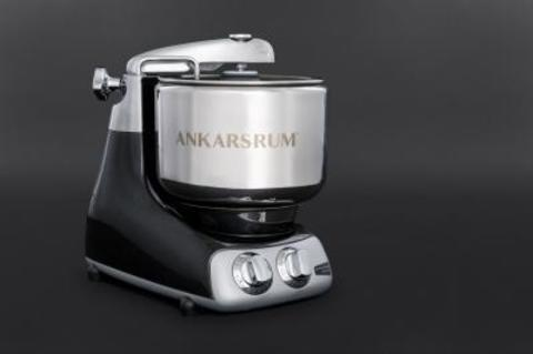 Кухонный комбайн с тестомесом Ankarsrum Assistant Black Diamond, фото