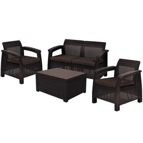 Комплект уличной мебели Keter Corfu Box Set
