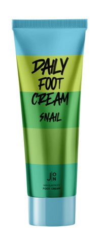 J:ON Крем для ног SNAIL DAILY FOOT CREAM, 100 мл