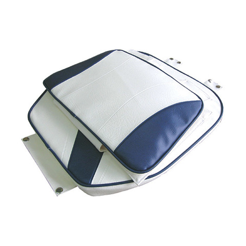 Подложка для сидений C12513, бело-синяя