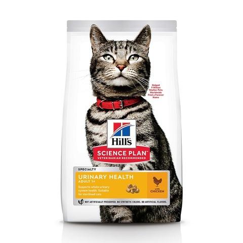 Hill's Urinary Health сухой корм для стерилизованных кошек и кастрированных котов (курица) 1,5кг