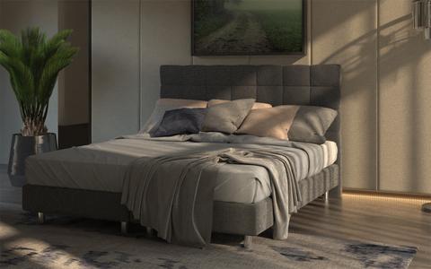 Кровать Proson Riga Boxspring Elite с пружинным блоком Bonnel