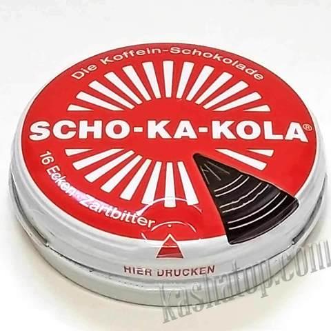 Энергетический шоколад SCHO-KA-KOLA горький, 100г