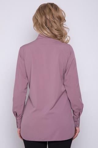 """<p>""""Модная"""" рубашка - базовая вещь в гардеробе! Её не зря считают """"палочкой-выручалочкой"""" для создания универсальных и тоже время стильных образов для самых разных жизненных ситуаций.&nbsp; (Ремень в стоимость не входит). (Длины: 44-46=75см; 48-50=76см)&nbsp;</p>"""