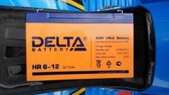 Аккумулятор DELTA 6V 12Ah