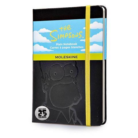 Записная черная книжка Moleskine The Simpsons