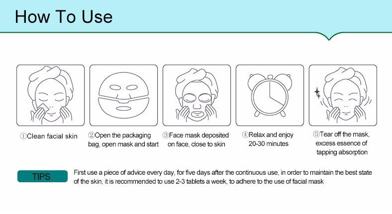 Омолаживающая маска с морскими водорослями Natural Extract, 30гр