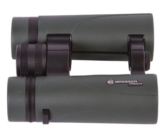 Бинокль Bresser Pirsch 10x34 - просветленное светоотражающее покрытие линз