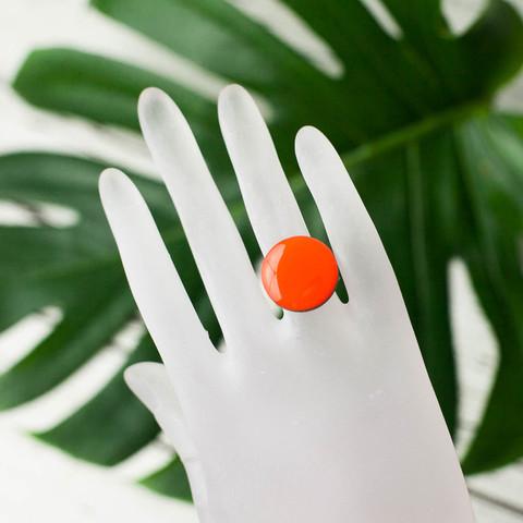 кольцо оранж
