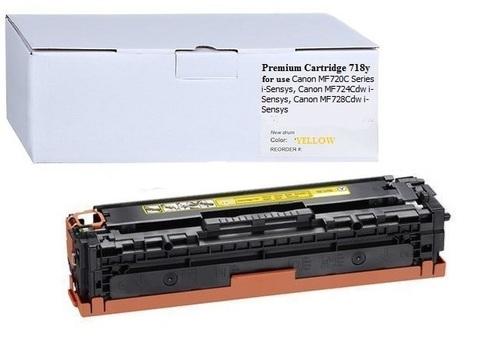 Картридж Premium Cartridge 718Y