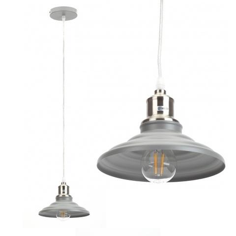 Подвесной светильник Эра PL4 GR/SN серый/сатин никель