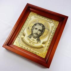 Икона Иисуса Христа /в киоте/