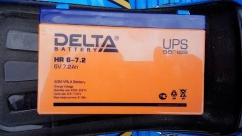 Аккумулятор DELTA 6V 7.2Ah