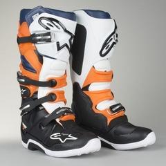 Мотоботы Alpinestars Tech 7 Boots Black/Orange/White 13 (48)