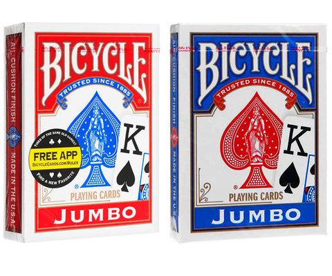 Карты Bicycle Jumbo (крупный индекс)
