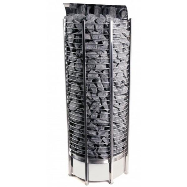 Фото - Серия Tower: Электрическая печь SAWO TOWER TH9-120NS-WL-P (12 кВт, выносной пульт, пристенная) серия taurus электрическая печь sawo taurus tau 180ns g p 18 квт выносной пульт