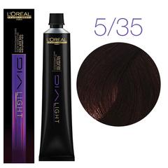 L'Oreal Professionnel Dia light 5.35 (Светлый шатен золотистый красное дерево) - Краска для волос