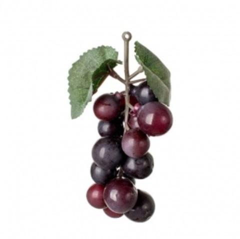 Виноград искусственный 12см, чёрный