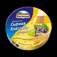 """Сыр плавленый """"Hochland"""" ассорти сырное, 140 г"""
