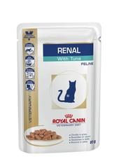 Royal Canin Renal , с тунцом 85 г (кусочки в соусе)