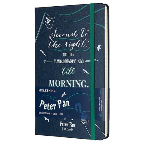 Блокнот Moleskine Limited Edition PETER PAN LEPN01CQP060 Large 130х210мм 240стр. линейка Pirates