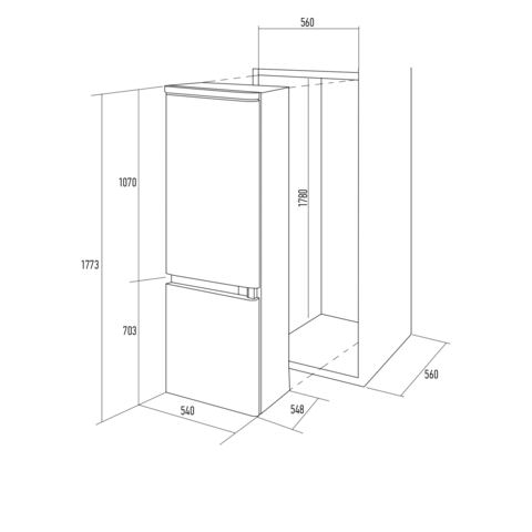 Холодильник Kuppersberg NRB 17761