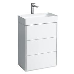 Мебель для ванной Laufen Living Square 59x43см.  4.0533.3.043.463.1 с раковиной Living Square 1143.4