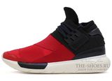 Кроссовки Мужские Y-3 Qasa Racer Red Black White High