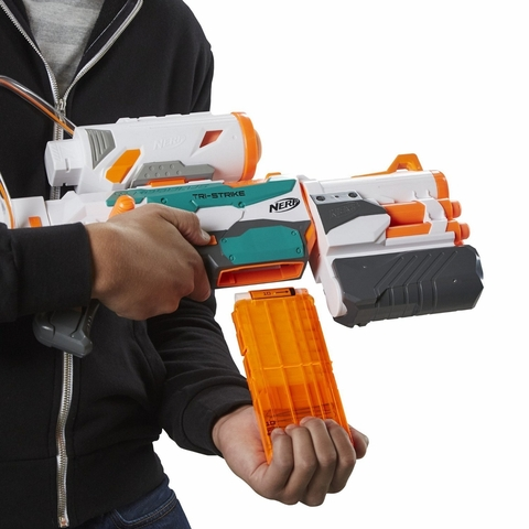Nerf: N-Strike Elite Модулус Бластер Tri-Strike Нерф Три-Страйк B5577