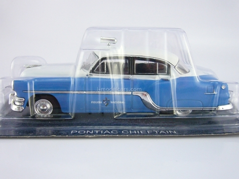 Pontiac Chieftain 1954 Cuba Police 1:43 DeAgostini World's Police Car #75