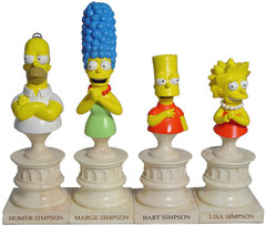 The Simpsons Busts