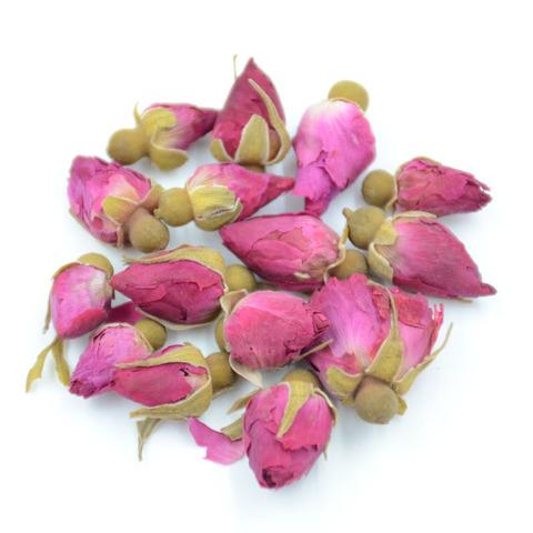Бутоны китайской чайной розы