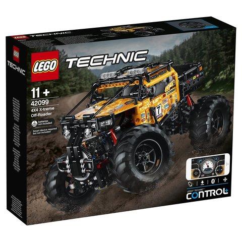 LEGO Technic: Экстремальный внедорожник 42099 — 4x4 X-treme Off-Roader — Лего Техник