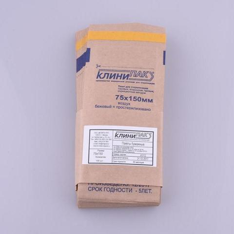 Крафт-пакет 75/150