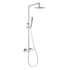 Душевая система с термостатом и тропическим душем для ванны BLAUTHERM 944802RK250