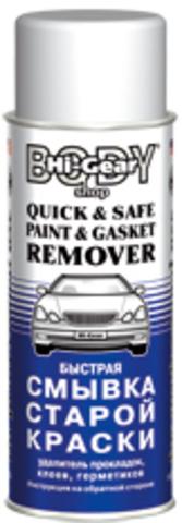 5782 Аэрозоль для быстрого удаления старой краски и прокладок  QUICK AND SAFE PAINT AND GAS, шт