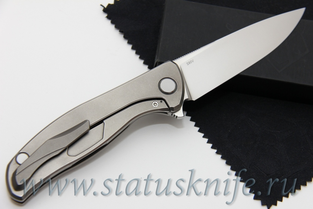 Нож Широгоров Ф 95 Слим Нудист Кастом Дивижн - фотография