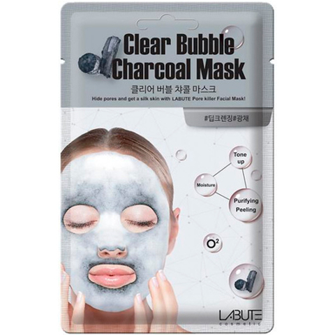 Labute Clear Bubble Charcoal Mask