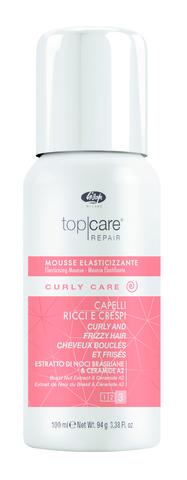 Разглаживающий мусс для вьющихся волос - Lisap Elasticising Mousse Curly and Frizzy Hair 100 мл